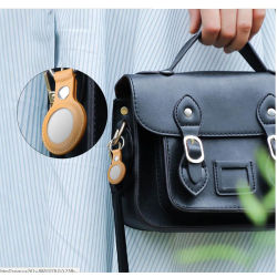 حقيبة حماية من الجلد الأصلي من الدرجة الأولى للعلامة الجوية باستخدام المفتاح حلقة