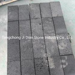 Antideslizante exteriores Baldosas de piedra de lava para decoración de jardín