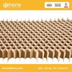 Núcleo de favo de papel para embalagem de papelão mercadorias