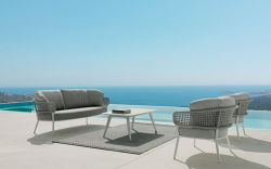Muebles de Jardín Sofá Ocio Outdoor Furniture mimbre Sofá Conner