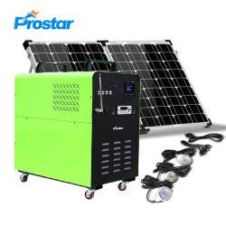 Prostar 1500W 1,5KW 24V générateur de puissance de l'énergie solaire Portable Batterie de sauvegarde de stockage pour le camping