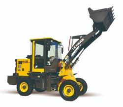 Cat Mini Tractor con retroexcavadora y cargadora frontal