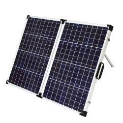 faltender Sonnenkollektor 120W mit den flexiblen unterstützenden Beinen für das Kampieren