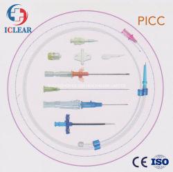 Tipo de válvula de 65cm médicos desechables Picc insertados periféricamente Kit de catéter central