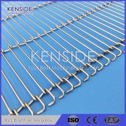 Correa de cable de cinta transportadora cinta transportadora de malla de alambre para serigrafía