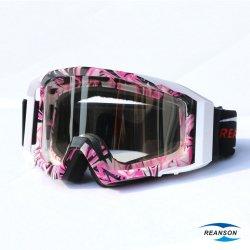 Revestimento do Espelho Reanson Picote Lentes de óculos de moto de motocross do PC