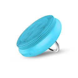 Commerce de gros 2020 nouvelle brosse de nettoyage Portable Nettoyage du visage Soins du Visage Mini silicone souple