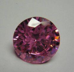 Cubic Zirconia 3,0 mm resistente al calor 3A Ronda Rosa CZ piedras para la fabricación de joyas