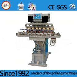 장식용 평면 둥근 병 정지되는 장난감에 기계 인쇄 기계 1-6 색깔 Pm 7 시리즈 인쇄를 인쇄하는 자동 장전식 패드