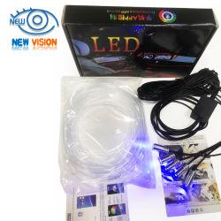 인기 있는 자동차 자동차 램프 자동차 장식 램프 조명 가이드 스트립 LED 색상 변화 차 분위기 광 섬유 LED 조명