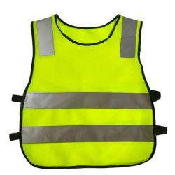 الأطفال عالية الرؤية الحركة الحركة التأملية السلامة أثناء السير ليلاً معطف مطاطي للأطفال