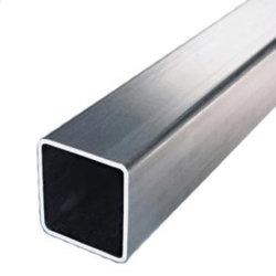 Effet de Serre, meubles, noir et enduits Galvanzied Ms /tuyau tube /GI GI /Tube carré en acier galvanisé