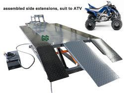 Commande à distance à entraînement hydraulique 2000 lbs de levage de moto en acier