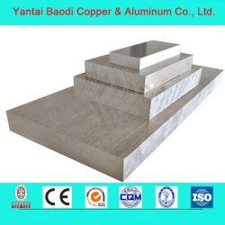 Commerce de gros 6061 6082 6063 miroir en métal perforé la plaque de tôle d'aluminium /