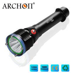 Nueva llegada Archon-W28-II, pulse el botón Cambiar 1200 Lumen de la luz de buceo