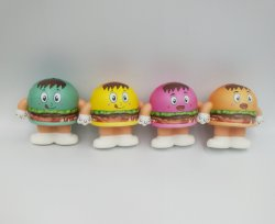 2019 Nouveau Hot PU stress toy Hamburger