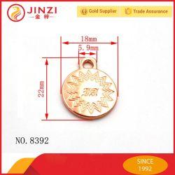 Nam de het Gouden Embleem/Tegenhanger van het Metaal voor Handtassen/Doek/Armband toe