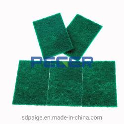 10 pcs avec du papier de la carte verte les ventes des supermarchés Scourer Pad, Tampon de nettoyage