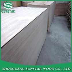 Teak/Sapelli/Walnut/Oak Veneer Fancy Plywood/Commercial Plywood