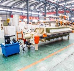 Industria Azucarera, filtro de membrana de alta temperatura de la máquina de prensa
