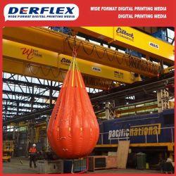 С покрытием из ПВХ Derflex 600d полиэфирная ткань для подушки безопасности материалов