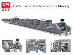De automatische Verpakkende Machine van Gluer van de Omslag van Speedwave van de Hoge snelheid voor de Doos van de Bodem van het Slot (yl-a-1100PC)