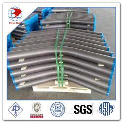 Bw 3D 5D 10d dell'ANSI B16.9 di ASTM A234 Wpb curvature della fabbrica da 90 gradi