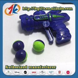 Nuevo diseño deporte popular bola de plástico de juguete Pistola de disparo para promoción