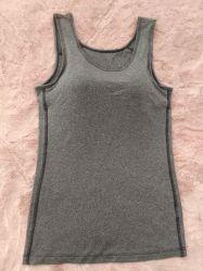 ヨガのワイシャツタンク適性の連続したレディースはTシャツのブラの実行中の摩耗の裸のヨガの管を遊ばす