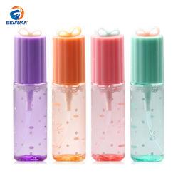 El patrón de animal lindo frasco cosmético plástico pulverizador con cabeza de bomba
