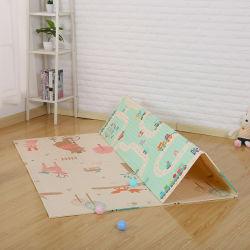 Multifunctional pliable tapis de caoutchouc XPE bébé jouer, Baby Non-Toxic Tapis de jeu
