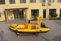釣のための肋骨のボートRib470のガラス繊維のボートの新しいモデル