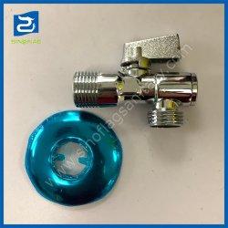Никелированный латунный угол клапан с фильтром