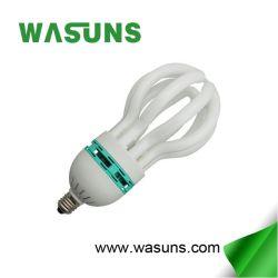 Marcação de homologação RoHS 125W Lotus E27 CFL lâmpada economizadora de energia