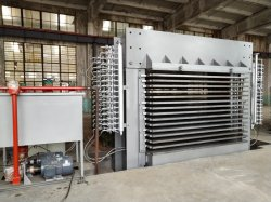 500t 4*8FT 15 van de Hydraulische van het Triplex Hete Lagen Machine van de Pers voor Installatie/Houtbewerking