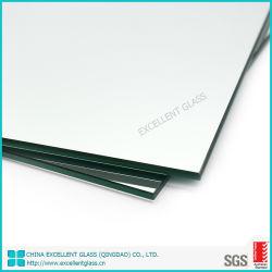 Espejo de plata de 6mm Material de vidrio flotado con AS/NZS2208: 1996 certificación
