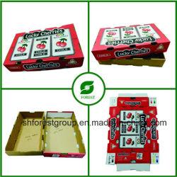 Verpakking Carton Box Met Waxcoating En Golfkarton Voor Fruitkers