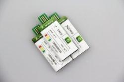 USBの単一のトリップPdfの使い捨て可能な温度データ自動記録器