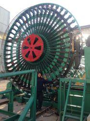Saldatore d'acciaio automatico dell'aggraffatura della gabbia di Hgz600-2000/3m per il tubo del cemento che fa macchina