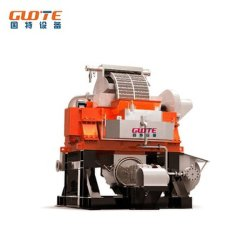 Máquina de extracción de mineral de hierro húmedos de alta intensidad el anillo de equipos de separación Electomagnetic Vertical