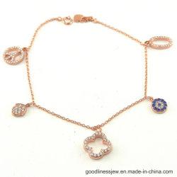 Fashion Bracelet avec Silver Charms pour Fille BT6587