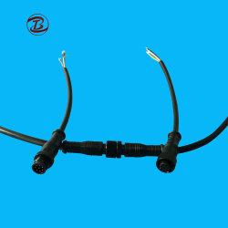 LED Conector eléctrico el tapón de goma/PVC/nylon