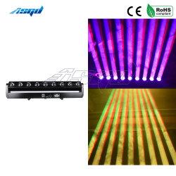 Asgd 9X40W LED RGBW 4en1 Cabezal movible de haz de exploración de la etapa de iluminación de los equipos con punto de control de la luz de la etapa de rendimiento