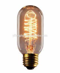 25 Wattfreier Glasedison-Art-Spirale-Heizfaden Repoduction weißglühende Glühlampen