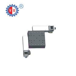 Wmy15-50 viajes motorizados de alta precisión de 50mm xy del eje de doble etapa de la tabla de traducción de la etapa de posicionamiento
