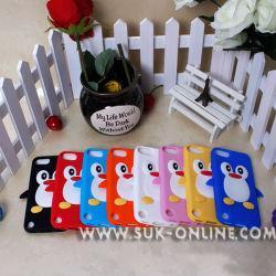 Couvercle en silicone de protection de style Pingouin Case pour iPod Touch 5 5e