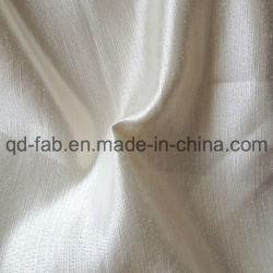 O cânhamo Seda Tecido acetinado todo o tecido natural (QF13-0303)