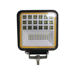 سطوع فائق بجهد 12 فولت وقدرة 63 وات مع مصباح LED عالي الإضاءة عند القيادة على الطرق الوعرة مصباح الضباب LED مصابيح العمل مصابيح العمل مصابيح الإضاءة الأوتوماتيكية للسيارة LED Focos 4X4