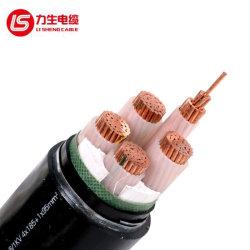 0.6Kv isolation PVC acier mince fil électrique gainé électrique Flame-Retardant blindé Câble d'alimentation en cuivre (VV 1*1,5)