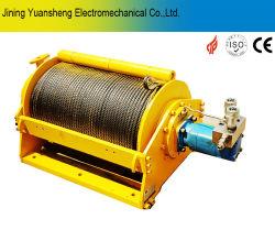 الرافعة الهيدروليكية ذات الحبل السلكي باللون الأصفر بقدرة 5 أطنان لمأخذ السحب.
